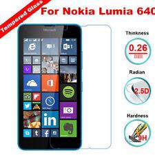 9H+ Premium Tempered Glass Screen Protector Guard For Microsoft Nokia Lumia 640