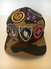Authentic Moncler Camo Patchwork Berretto Expedition Baseball Hat Cap