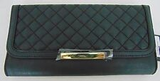 AUTHENTIC NWT GUESS BLACK WOMEN TRAVEL CLUTCH WALLET        (A7949)