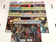 Fear Itself The Fearless #1 2 3 4 5 6 7 8 9 10 12 Comic Book Set Marvel 2011