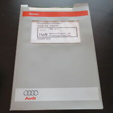 Werkstatthandbuch Audi A6 C5 Motronic 2,8L 6-Zyl Einspritz- Zündanlage ACK ALG