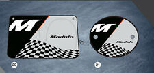 Modulo Stye Logo Front+  2 Side  UV Sunshade Visor Foldable Honda Genuine Rare!