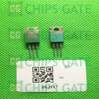 3PCS HITACHI 2SJ117 TO-220 Silicon P-Channel MOS FET IC