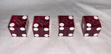 Harrahs Genuine Casino Dice Dust Valve Caps Pink