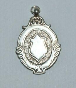 Vintage sterling silver medal, Birmingham & District Football League, 1936 / 37