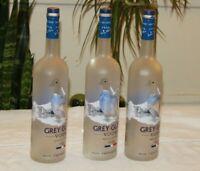 Lot of 3  Grey Goose Vodka -Empty Bottles - 1 Liter