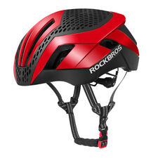 ROCKBROS MTB Road Bike Cycling 57cm-62cm EPS Integrally Helmet 3 in 1 Red