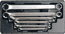 BGS Doppel-Ringschlüssel-Satz mit E-Profil-Ringköpfen SW E6 x E8-E20 x E24 6-tlg