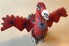 OAXACAN  ALEBRIJE WOOD CARVING ONE OF A KIND HAND PAINTED, SIGNED