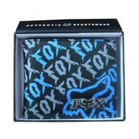 New with Box FOX Men's Surf Synthetic Leather Wallet  Xmas Gift #021