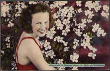 (uwb) Postcard: Dogwoods in Blossom for the Hills of OK