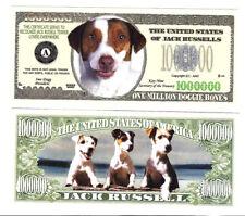 Jack Russel Klappkarte de luxe Terrier Chico als Partygänger und Lebemann