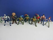 Tmnt Conjunto de 8 Figuras de Acción Teenage Mutant Ninja Turtles Casey Leo 2003 74 de abril