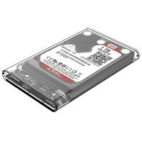 "ORICO 2.5"" USB3.0 2139U3 Transparent 5Gbps Sata HDD Case Hard Drive Enclosure"