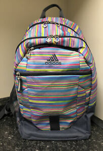 Girls adidas backpack Multicolor Stripes