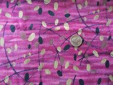 WtW Fabric Dreamscapes Fabri-Quilt 7102 Mod Abstract Retro Purple BTY Quilt