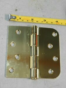 "Lot of 4 Hager Brass Hinges 5/"" x 5/"" FREE SHIPPING"