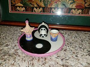 Disney's Mulan miniature Collectible Tea Set 4 pcs  j89