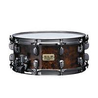 """TAMA S.L.P. Snare Drum """"G-Maple"""" 6x14"""" Maple Snare Drum Kona Mappa Burl"""