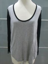 Wilfred Free Color Block 3/4 Sleeve Jersey Knit Tunic Size L