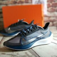 Nike Zoom Gravity Running Shoes Men's Size 10.5 NIB BQ3202-002 Off Noir Metallic