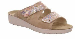 Rohde Roma Damen Clogs Pantoletten Sandalette Hausschuhe Sandale Komfortschuhe