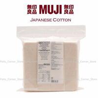 MUJI Premium Japanese Organic Cotton {180 PADS} Unbleached 100% Natural Vape