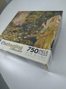 Ceaco Enchanting Shimmer In the Forest of Serre 750 Piece Puzzle New Sealed