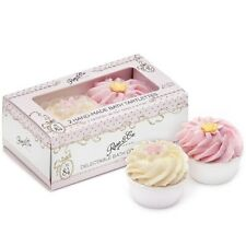 Rose & Co Set of 2 Hand Made Bath Tartlettes Delectable Bath Confections No.84