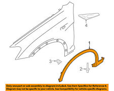 BMW OEM 13-16 X3-Front Fender Flare Wheel Well Arch Molding Left 51778052073