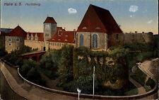 Halle Saale Sachsen-Anhalt AK ~1910 Moritzburg Burg Castle château Verlag Zieher