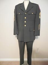 US Army Sargent Major 1st Calvary Recruiting Dress Uniform Set 39S Pants 31x32