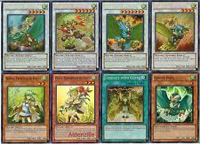 YuGiOh Gusto Deck - 40 Karten + 10 extra sphreez Bestattungen Winda Gulldos egul