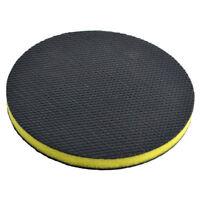 "6 "" Clay Mitt Bar Pad Polish Buffing Sponge Car Detailing Clean Wax Round Pad"