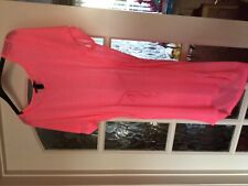 H&M Taille S-SMALL Rose Fluo Robe de plage