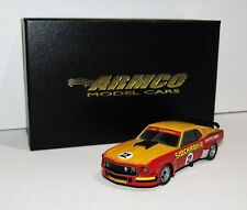 1:43 ARMCO Model Cars Mustang Sidchrome Jim Richards 1975 Sports Sedan Series