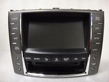 2010-2012 Lexus IS250 IS350 IS F GPS Navigation Radio Display Screen Monitor OEM