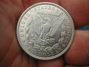 USA 1921 D ( Denver ) Morgan silver dollar. Good grade.