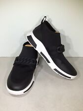 FitFlop Heda Chain Women's Size 11 Black Casual Slip-on Sneakers X5-733*