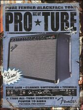 The Fender Pro Tube Series Guitar Pro Reverb Amp 2002 ad 8 x 11 advertisement