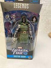 """Hasbro Marvel Legends 6"""" Fantastic Four Doctor Doom Figure W/ Super Skrull BAF"""