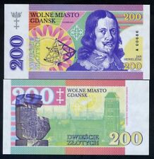 Poland, Gdansk, 200 Zlotych, Private Issue, Specimen, Essay, 2017, UNC