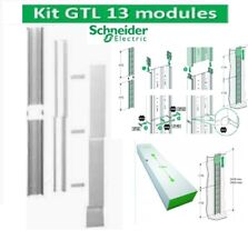 Goulotte GTL 13 Modules 2 compartiments clipsable Rési9 Schneider R9HKT13