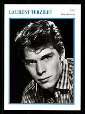 Laurent Terzieff STARPORTRAITKARTE - 80er Jahre TOP  + G 17078