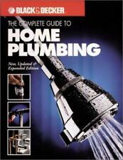 The Complete Guide to Home Plumbing (Black & Decker Home Improvement Library)