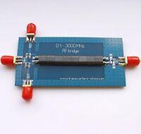 ORIGINAL RF SWR Reflection Bridge 0.1-3000 MHZ Antenna Analyzer VHF UHF VSWR