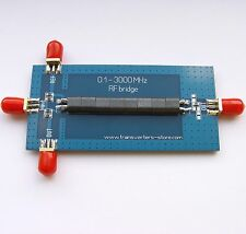 RF SWR Reflection Bridge 0.1-3000 MHZ Antenna Analyzer VHF UHF VSWR return loss