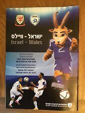 Israel V Wales EURO's 2016 Qualifier Programme 28/03/15