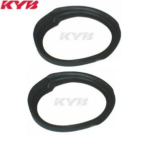 For Toyota Corolla Mazda Protege Set of 2 Rear Lower Coil Spring Shim KYB SM5523