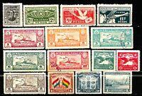 Paraguay - Posta Aerea - Air Mail - Lotto da 35  Francobolli (Stamps)  perfetti